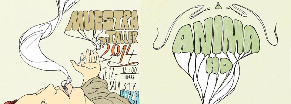 Anima Chile invita a muestra de taller de ilustración y animación 2014