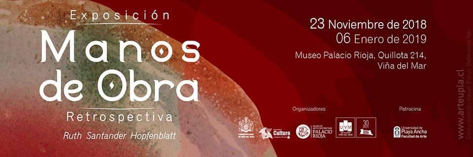 Ceramista Ruth Santander expondrá en Palacio Rioja de Viña del Mar