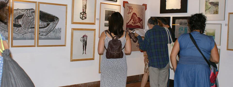 Artistas de la UPLA son parte de exposición que inauguró la temporada 2013 del Centro Cultural Estación Mapocho