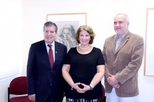 Autoridades UPLA Museo del Grabado