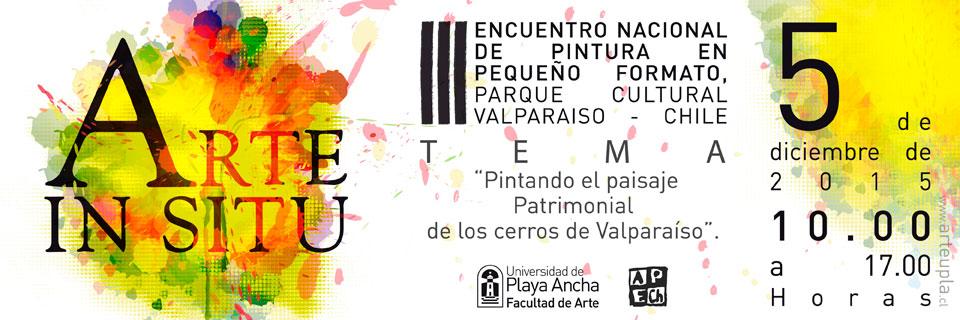 Convocan a Tercer Encuentro Nacional de Pintura In Situ en Valparaíso