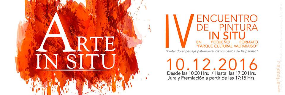 IV Encuentro Nacional de Pintura In Situ se desarrollará en Valparaíso
