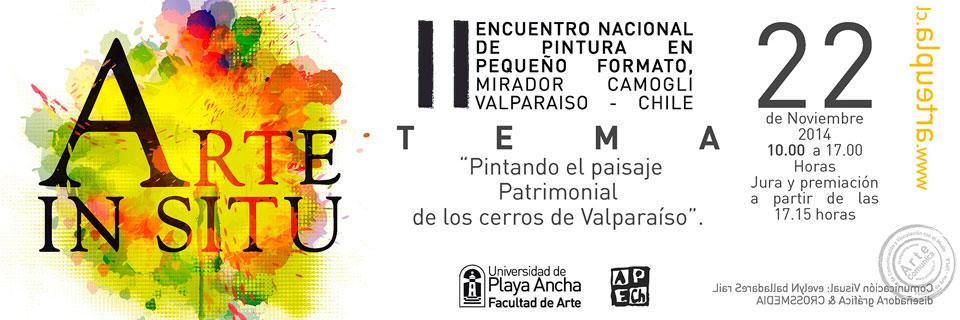 Segundo Encuentro Nacional de Pintura In Situ se realizará en Valparaíso