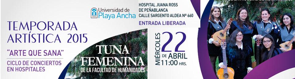 """Comienza """"Arte que Sana"""" en Hospital de Peñablanca"""