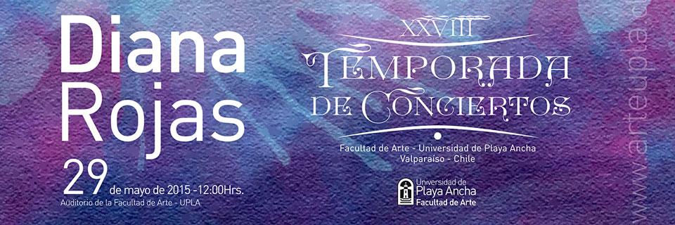 Con la participación de Diana Rojas continúa Temporada de Conciertos en la UPLA
