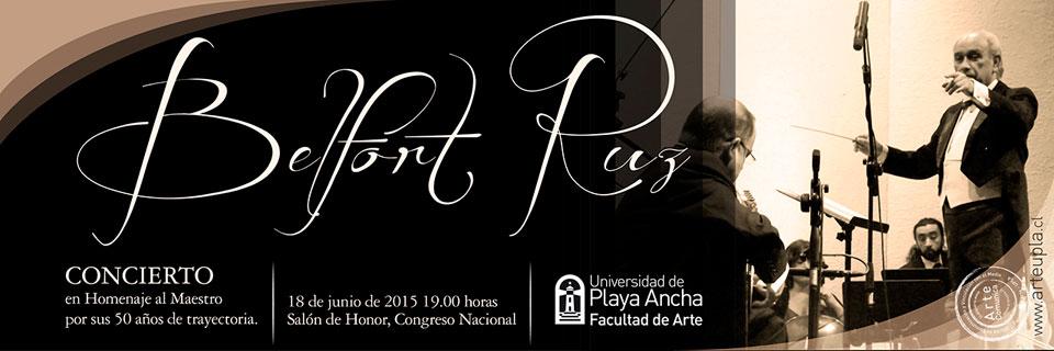 Maestro Belfort Ruz recibirá homenaje en el Congreso Nacional