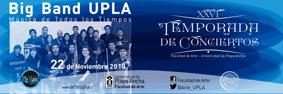 Big Band UPLA promete gran presentación en Temporada de Conciertos