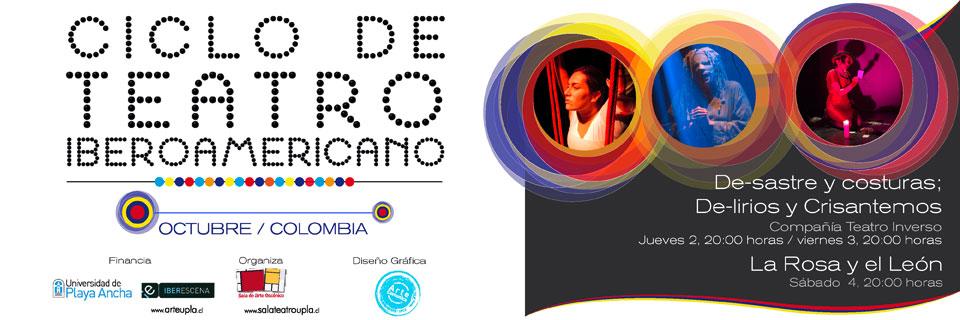 En octubre es el turno de Colombia en Sala UPLA