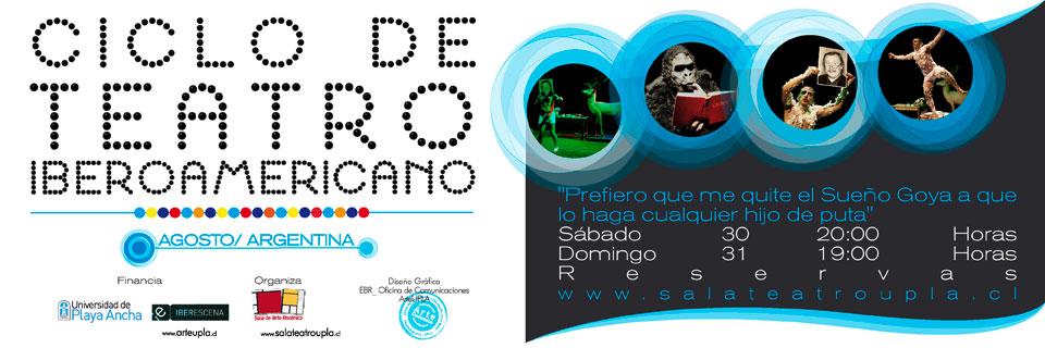 Sala UPLA inaugura Ciclo de Teatro Iberoamericano