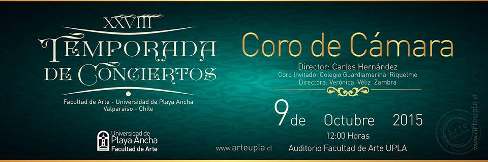 Coro de Cámara UPLA en Temporada de Conciertos
