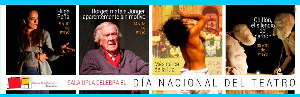 Sala UPLA celebra Día Nacional del Teatro