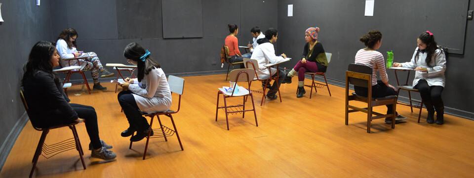 Estudiantes de Teatro de la UPLA son evaluados vocalmente por fonoaudiólogos