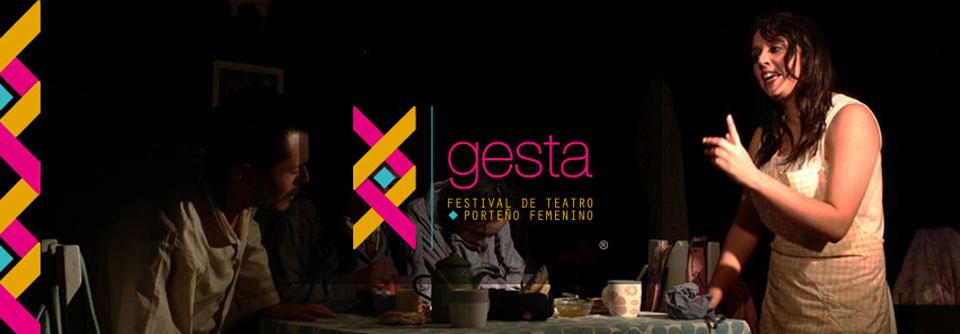 Este fin de semana comienza Festival de Teatro Porteño Femenino Gesta