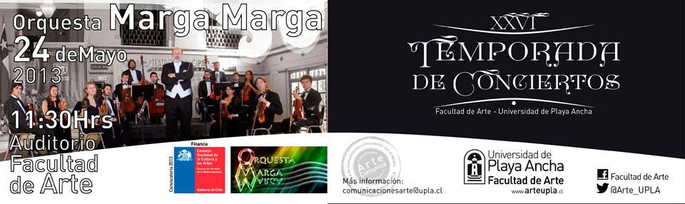 Orquesta Marga Marga se presenta en XXVI Temporada de Conciertos