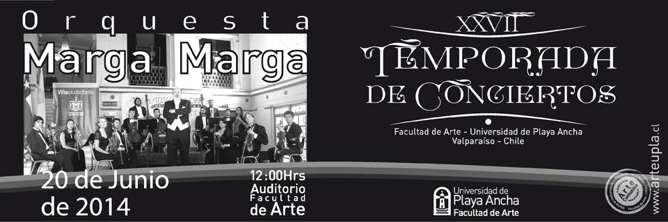 Orquesta Marga Marga se presenta en Temporada de Conciertos de la UPLA