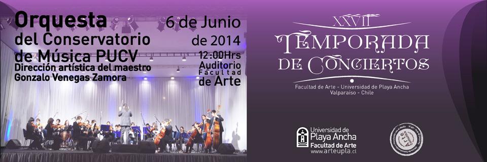 Orquesta del Conservatorio de Música de la PUCV se presenta en Temporada de Conciertos UPLA