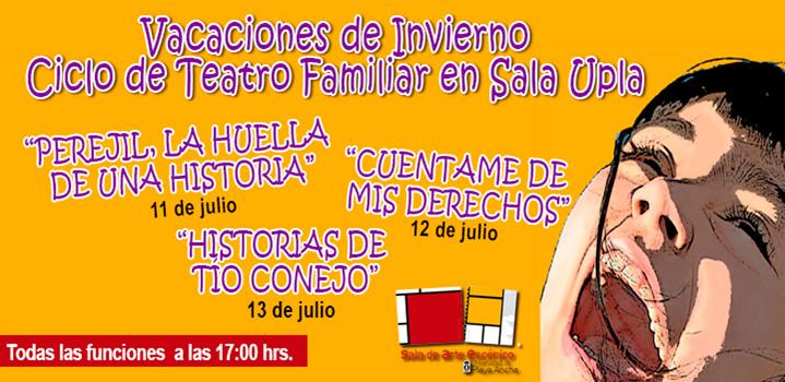 Ciclo de Teatro Familiar en Sala UPLA