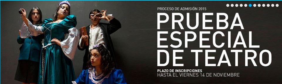 Carrera de Teatro UPLA realizará proceso de selección de alumnos para el 2015