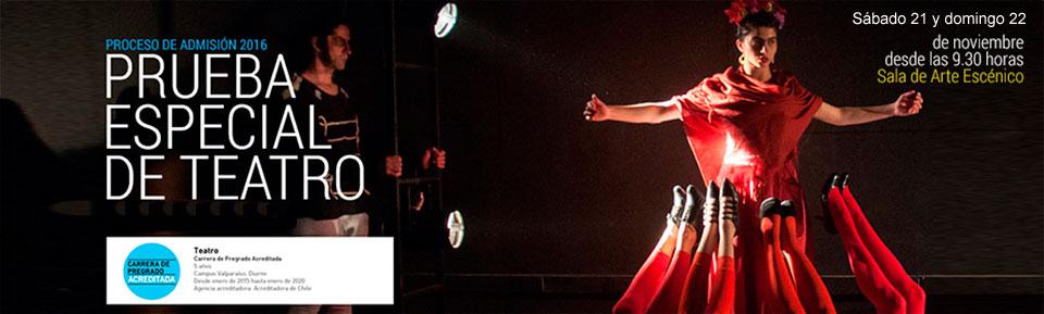 Teatro UPLA realizará proceso de selección de estudiantes para el 2016