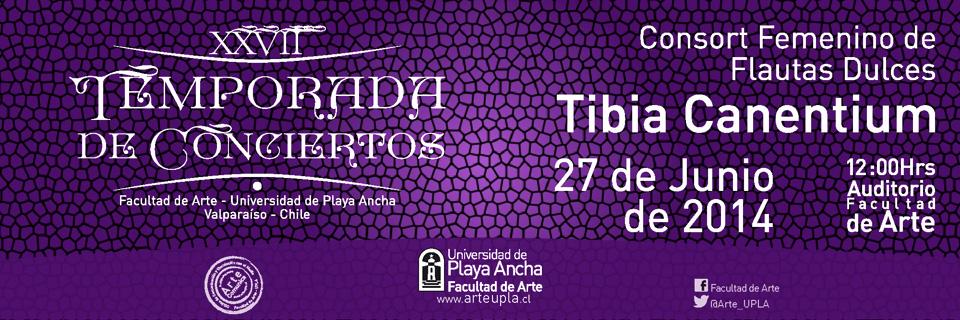 """Consort de Flautas """"Tibia Canentium"""" debutará en Temporada de Conciertos UPLA"""
