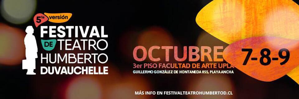 """V Festival de Teatro Humberto Duvauchelle"" en la UPLA"