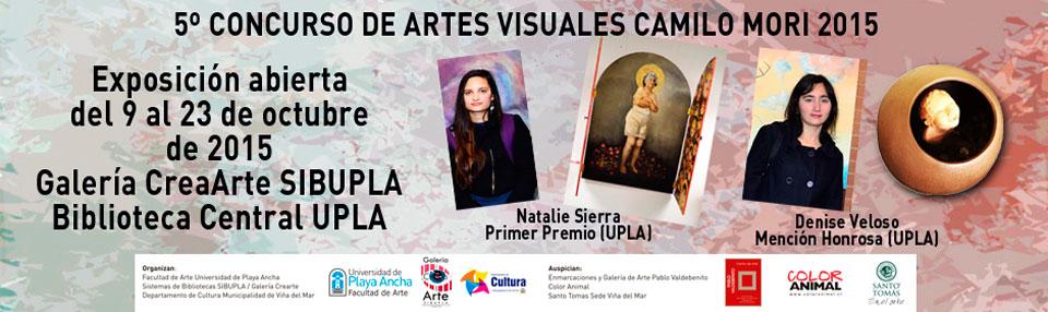"""Obras del Concurso de Artes Visuales """"Camilo Mori"""" se exhibirán en la UPLA"""