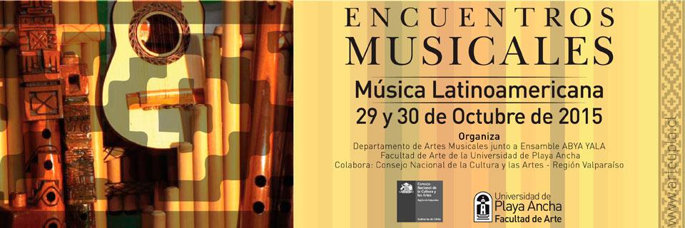 """Con música latinoamericana continúan los """"Encuentros Musicales"""" en la UPLA"""