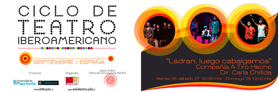 Continúa Ciclo de Teatro Iberoamericano en Sala UPLA