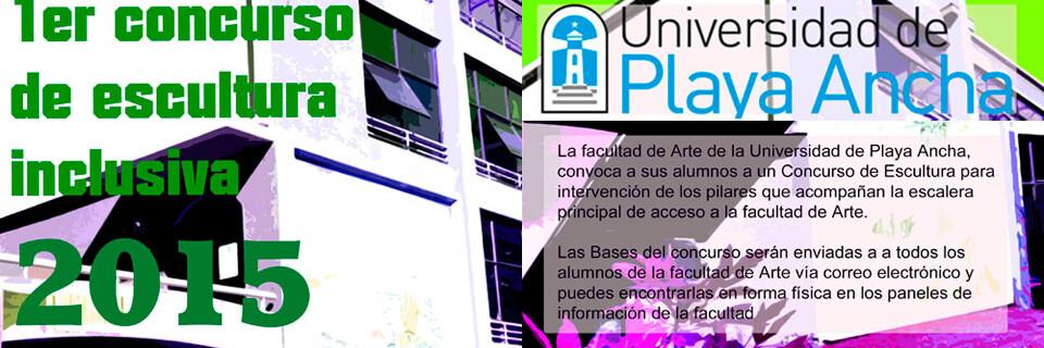 Actualizado: Convocan a estudiantes a Primer Concurso de Escultura Inclusiva en la UPLA