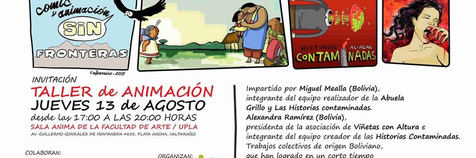 Artistas bolivianos dictarán taller de animación en la Facultad de Arte