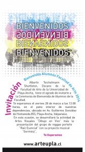 Afiche de bienvenida 2014