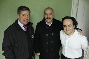 Oscar Valenzuela Vásquez, Patricio Freire y José Godoy