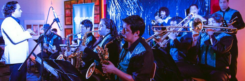 """Big Band UPLA se presentó en """"2° Encuentro de Jazz de Invierno"""" en Concón"""