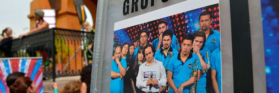 """Big Band UPLA se presenta en gala de """"Talento Chileno"""""""