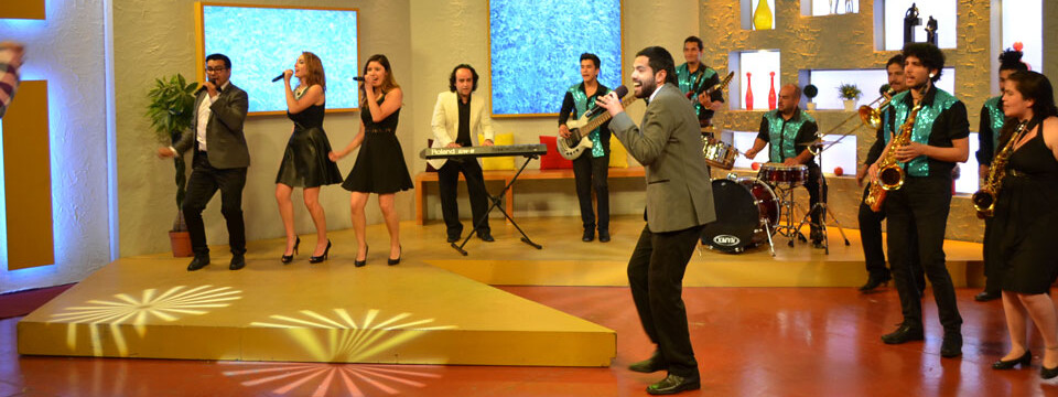 Big Band UPLA se presentó en TV Chile (TVN)