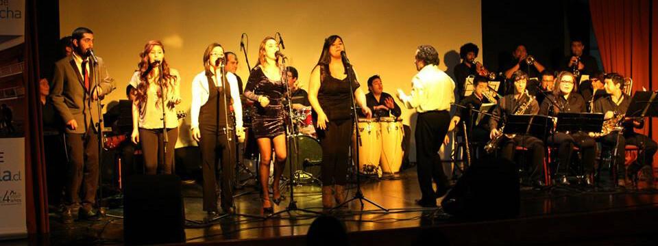 Big Band UPLA fue ovacionada en el Teatro Municipal de San Felipe