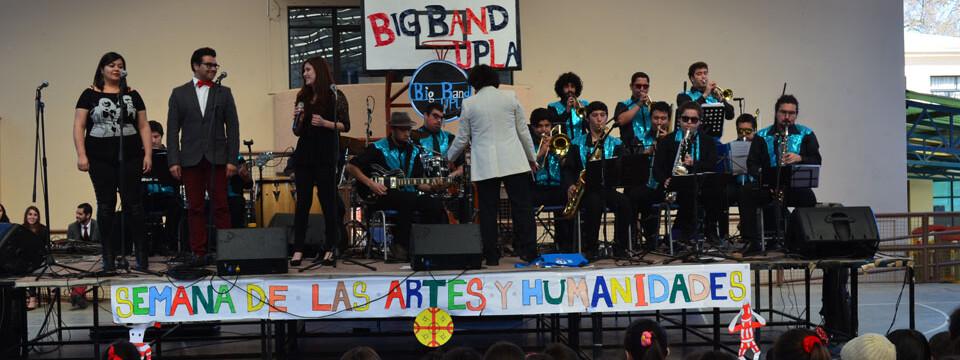 Big Band UPLA se presentó en Colegio Nacional de Limache