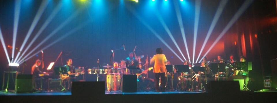Big Band UPLA cautivó en Festival Internacional de Jazz