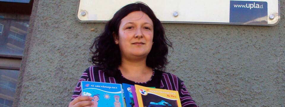"""Carolina Barrios: """"Mi único interés es mantener vivo el idioma en Rapa Nui"""""""