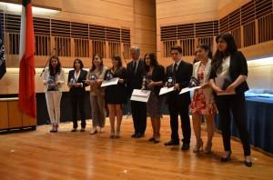 Ceremonia Titulación Arte 2014