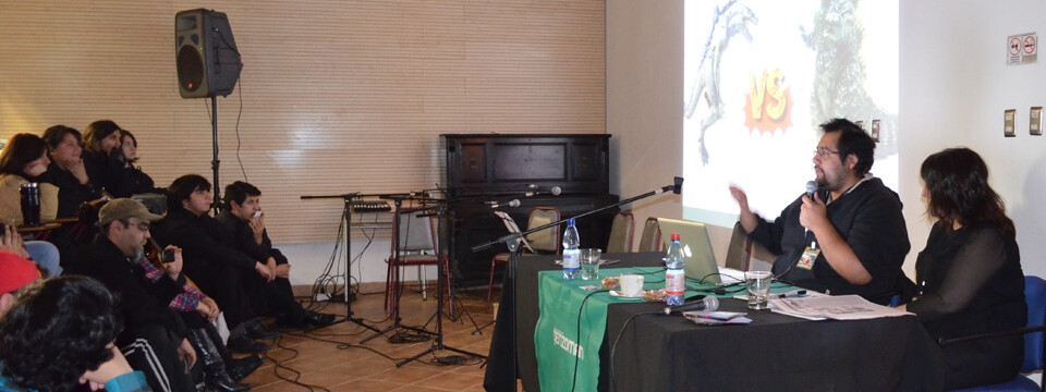 "Ilustrador nacional ""Genzoman"" dictó magistral charla en la UPLA"