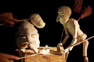 """Obra de teatro de marionetas """"Chiflón, el silencio del carbón"""""""