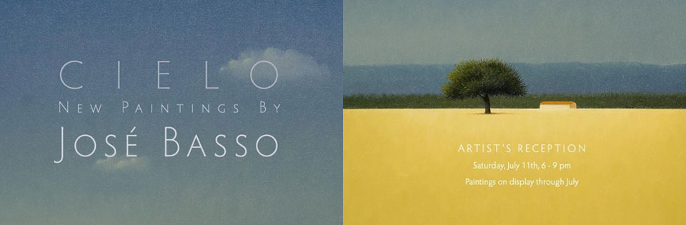 Artista José Basso expondrá obras en Estados Unidos
