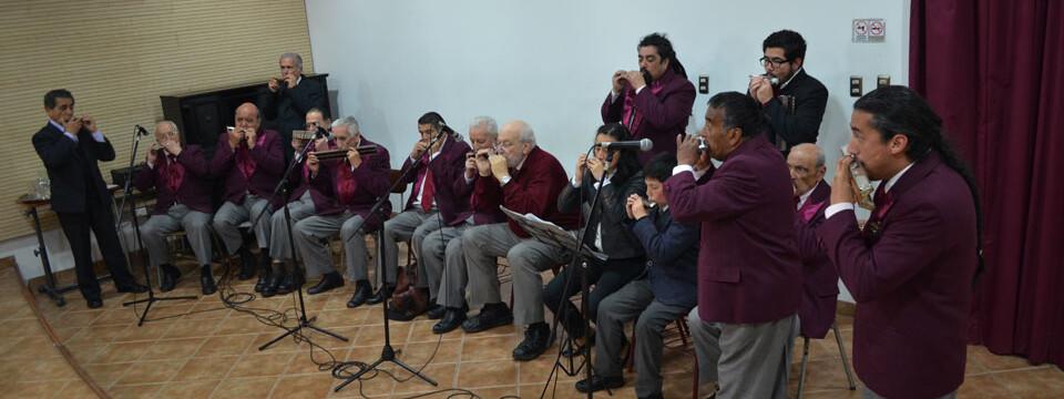 Club de Armónicas de Valparaíso debutó en Temporada de Conciertos UPLA