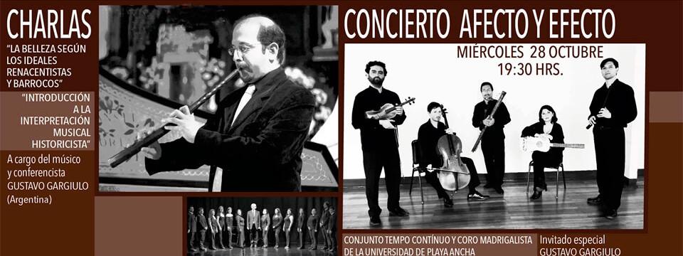 Agrupaciones UPLA darán concierto junto a Gustavo Gargiulo