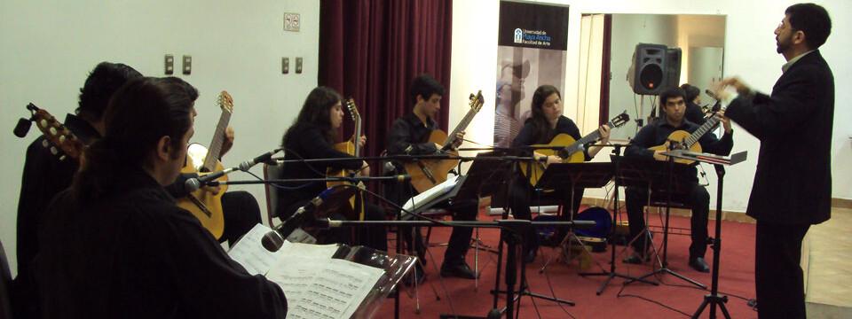 Conjunto de Guitarras cerró Temporada de Conciertos de la UPLA