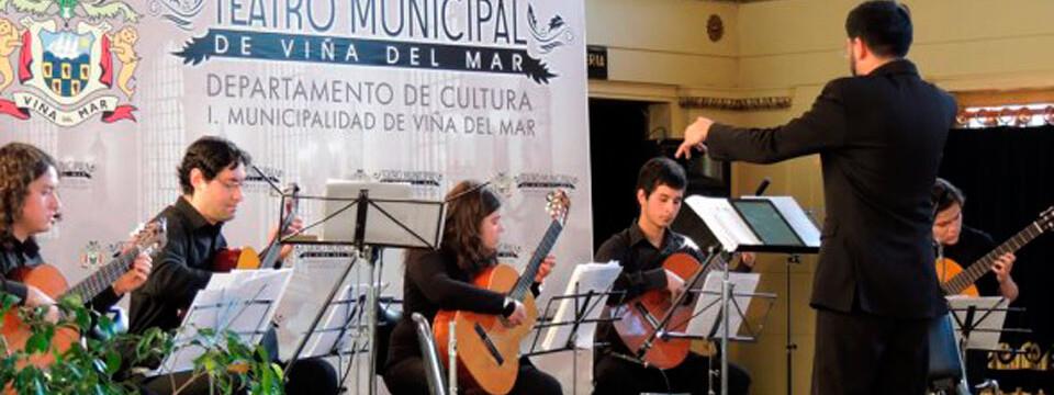 Músicos de la UPLA brindaron Concierto de flauta y guitarra en Viña del Mar