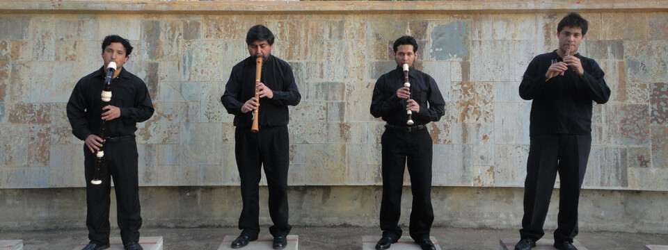 Consort de Flautas se presenta en Temporada de Conciertos de la UPLA