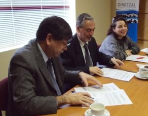 Coordinadores Arturo Acuña y Jaime Prieto