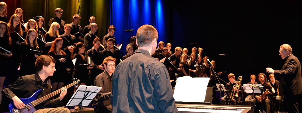 De gran factura fue el concierto que ofreció el Coro Jazz de Hamburgo en la UPLA